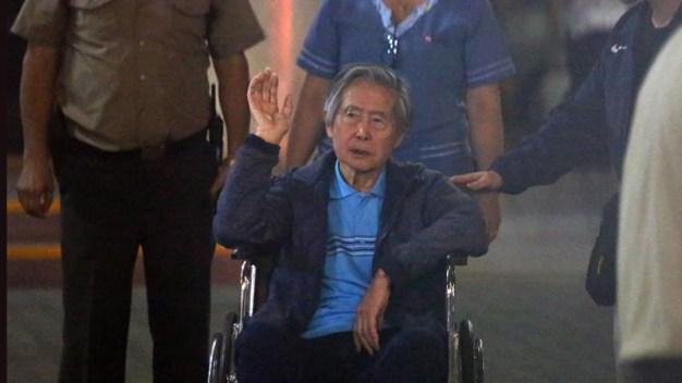 Fujimori regresa a prisión tras 112 días en la clínica