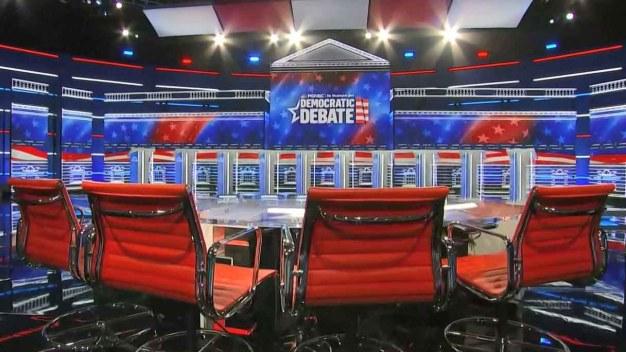 Debate: precandidatos demócratas se enfrentan hoy miércoles