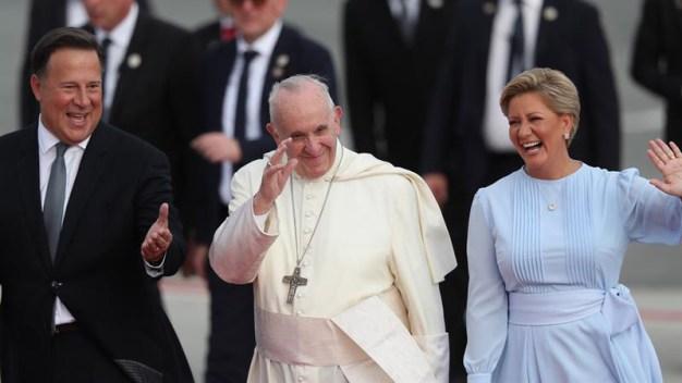 El papa Francisco desata el entusiasmo en Panamá