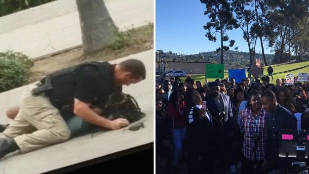 "Investigan fuerza excesiva tras ""tirar"" alumna al piso"