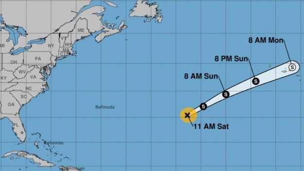 Sebastien se fortalece pero pudiera no ser un huracán