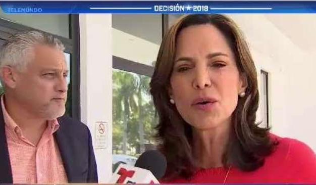 Polémica por mensaje de Uribe a Maria Elvira Salazar}