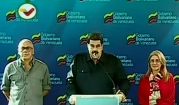 'Está en marcha intento de golpe de Estado ordenado por EEUU': Maduro}