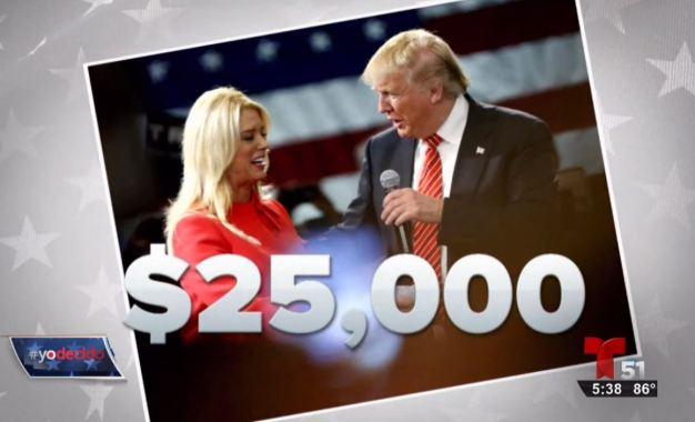 Controversia por donación de Trump a fiscal de Florida