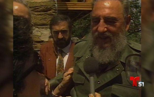 30 años, 30 historias: Fidel Castro en Galicia