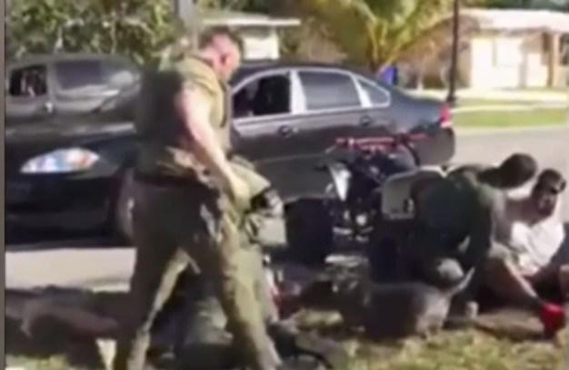 Liberan a involucrados en violento incidente con la policía