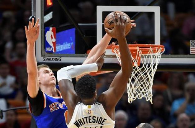 El Miami Heat cae ante los Knicks