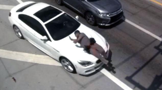 Arrestan a sospechoso de atropellar a patrullero