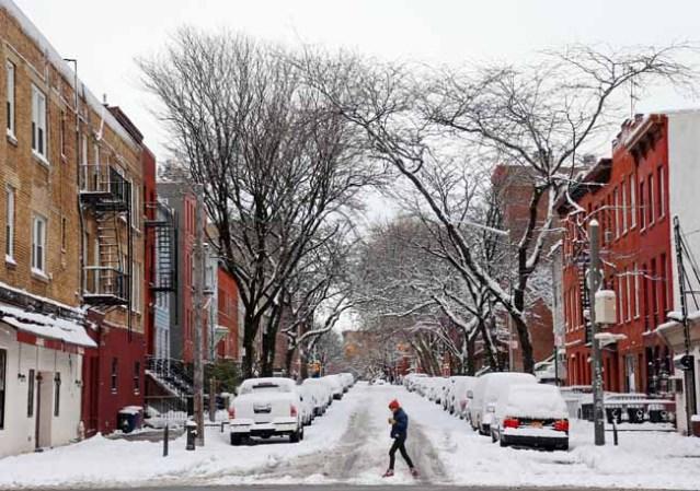 la tormenta de nieve en imágenes una nueva tormenta invernal azota al ...