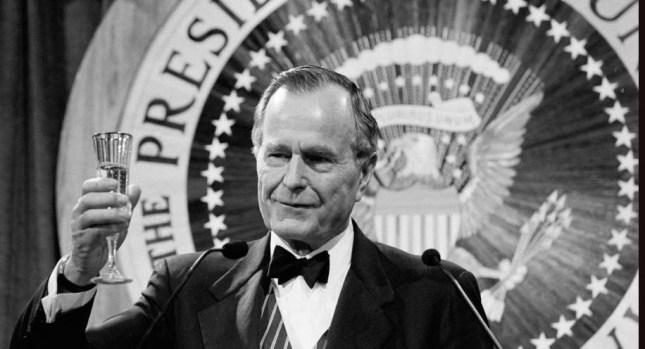 Presidente George H.W. Bush: a través de los años