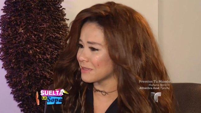 """Carolina Sandoval regresa feliz a """"Suelta la sopa"""""""