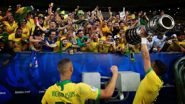 Brasil gana la Copa América por novena vez en su historia