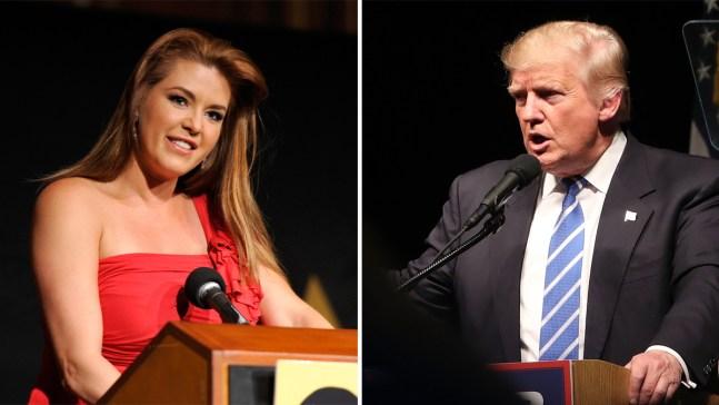 """Trump invita a ver """"video sexual"""" de Alicia Machado"""