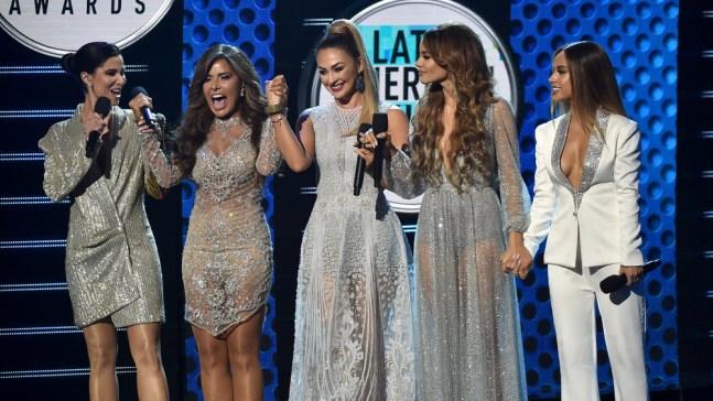Los Latin AMAs celebran a las mujeres en la música