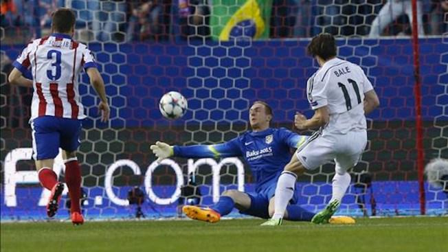Campeones: Empatan 0-0 Atlético y Real Madrid