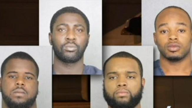 Arrestan 4 sospechosos de docenas de robos