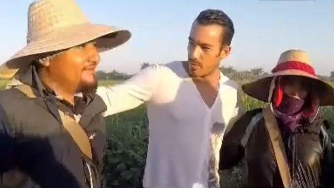 Aarón Díaz, aliado de los trabajadores del campo