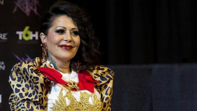 Alejandra Guzmán es designada embajadora por la paz