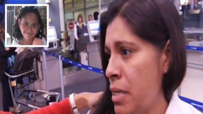 Dorotea García partió a México por Alondra