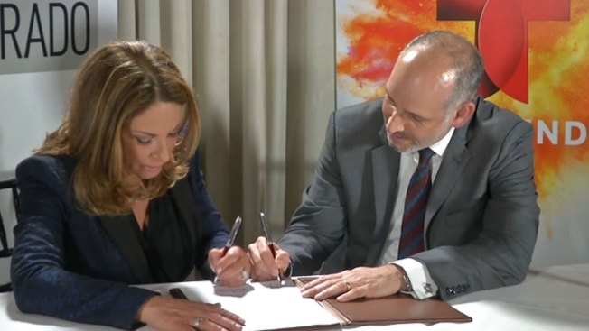 Ana María Polo renueva contrato con Telemundo