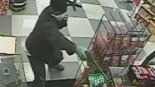 Asalto violento a un supermercado