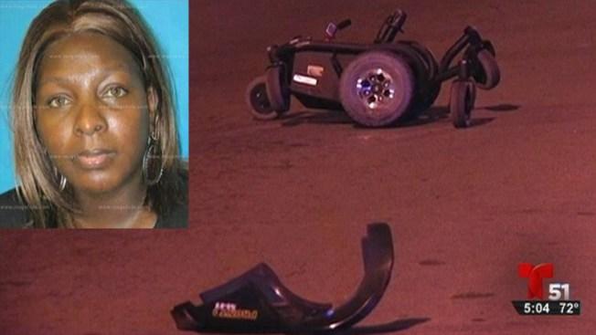Identifican a mujer atropellada en silla de ruedas
