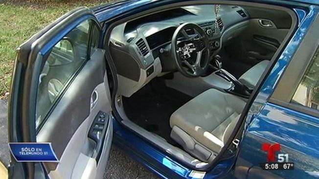 Roban bolsas de aire de 14 carros Honda