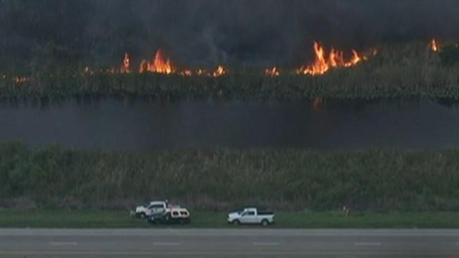Fuego de maleza afecta a Broward