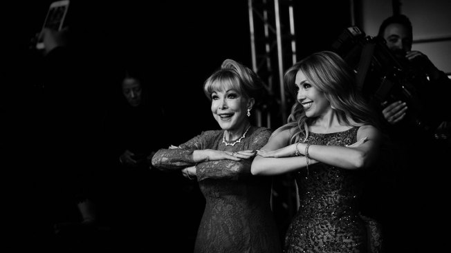 """Thalía conoce a uno de sus """"ídolos"""""""
