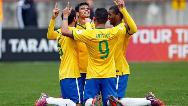 En trepidante partido Brasil vence a Nigeria