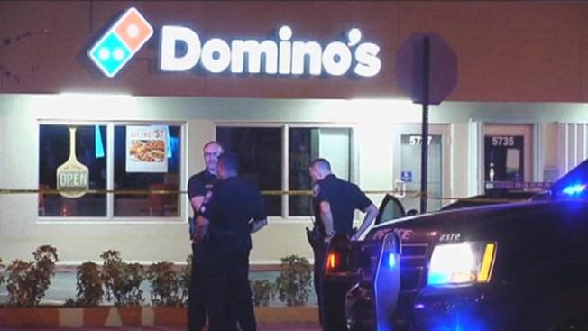 Tiroteo en Domino's Pizza deja un muerto