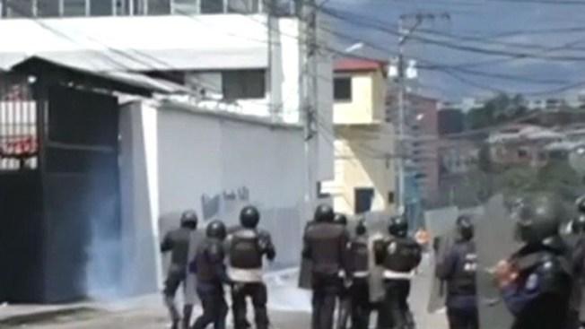 Venezuela: 30 estudiantes heridos en protesta