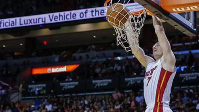 El Heat derrota a los Pistons