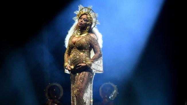 Beyoncé presentó a sus mellizos en la red