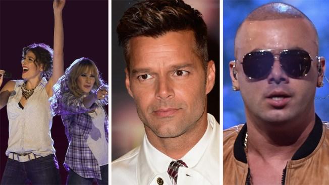 Ha*Ash y Wisin, de gira con Ricky Martin