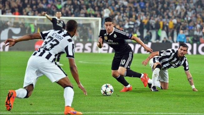 Juventus se impone ante el Real Madrid