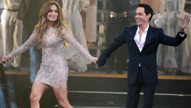 J. Lo y Marc Anthony lucen como venados en cómico video
