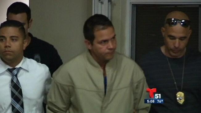 Acusado del asesinato a balazos de su exnovia