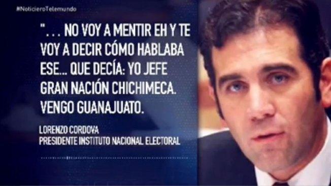 Funcionario mexicano se burla de indígenas