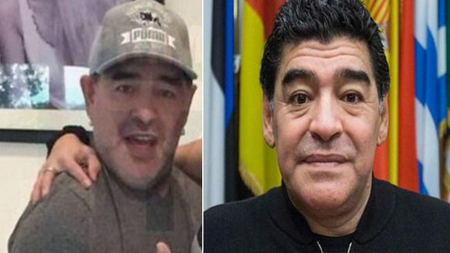 Maradona exhibe en Cuba rostro rejuvenecido
