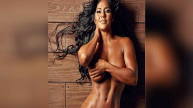 Maripily posa desnuda