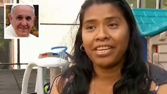 Madre mexicana pone sus esperanzas en el Papa