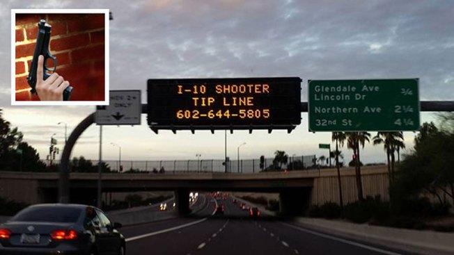 Dejan en libertad a una persona tras tiroteos en I-10