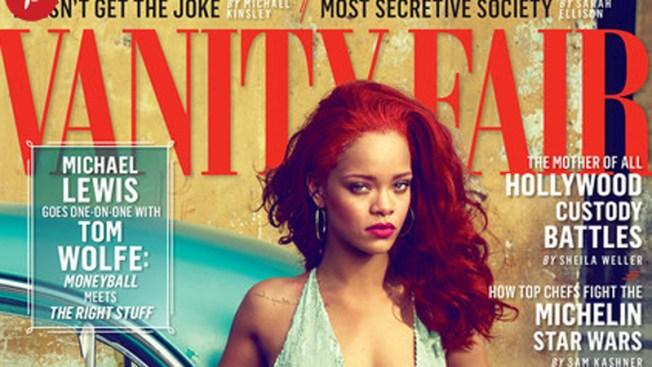 Rihanna se desnuda en Cuba para Vanity Fair