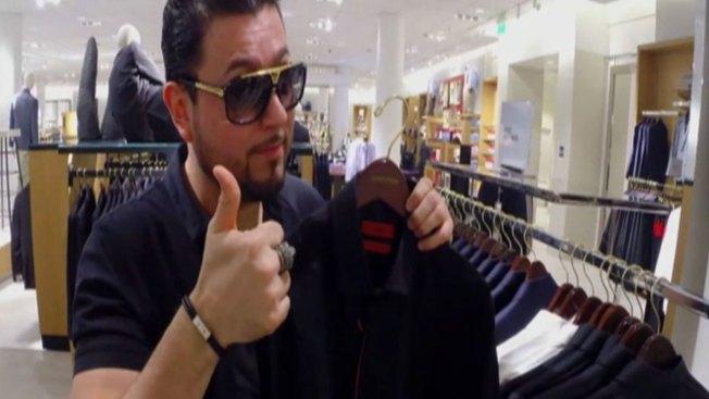 Roberto Tapia, adicto a las compras