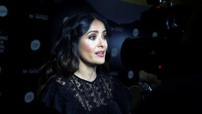 Salma Hayek dona $100,000 para víctimas del terremoto