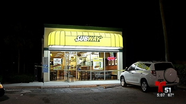 Hialeah: buscan a un ladrón que asaltó un Subway