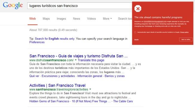 Google mejora la seguridad de navegación en la web