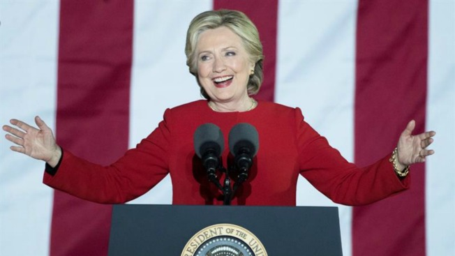 Ventaja de Clinton sobre Trump sube a 2 millones de votos