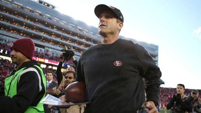 Harbaugh deja a los 49ers